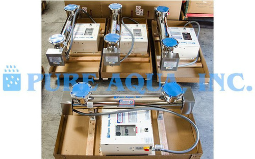 Esterilizador Ultravioleta Industrial 4 x 500 GPM - EUA
