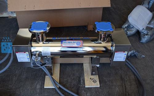 Purificador Industrial Ultravioleta de Água de 251 GPM - São Vicente e Granadinas