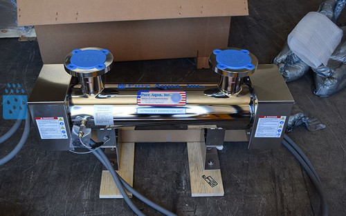 Purificador Industrial Ultravioleta de Água de 130 GPM - Canadá