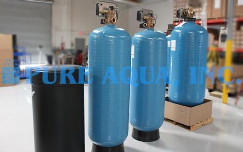 Amaciador de Água de Dupla Alternação 72,000 GPD - Bolívia