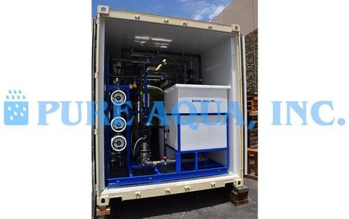 Sistema de Tratamento de Efluentes de Aterro em Contentor 54 GPM - Colômbia