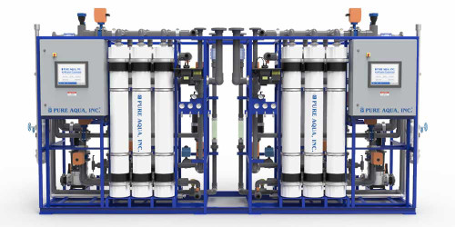 Sistemas de Ultrafiltração UF Industrial