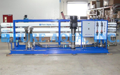 Sistemas Industriais de Osmose Reversa de Água Salobra 275,000 GPD - Catar