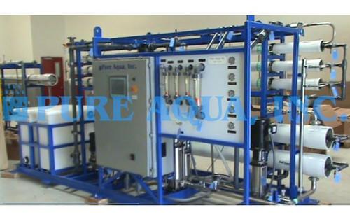 Pure Aqua Inc Unidade Piloto Industrial 74,000 GPD - Arábia Saudita