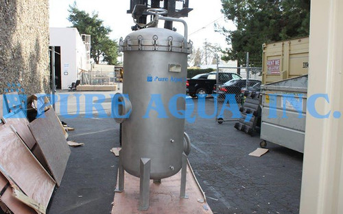 Filtro de Cartucho de Armazenamento em Aço Inoxidável 2,000,000 GPD - Saudi Arabia