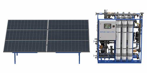 Sistemas de Ultrafiltração por Ultrafiltração de Energia Solar UF
