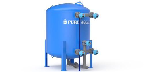 Tanque de Aço Industrial Filtro de Meios de Água MF-1000