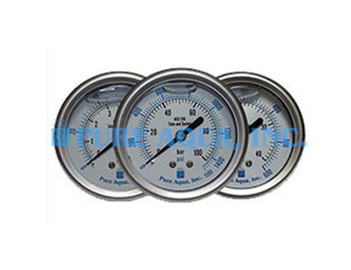 Manômetros de Pressão em Aço Inoxidável da Série PG