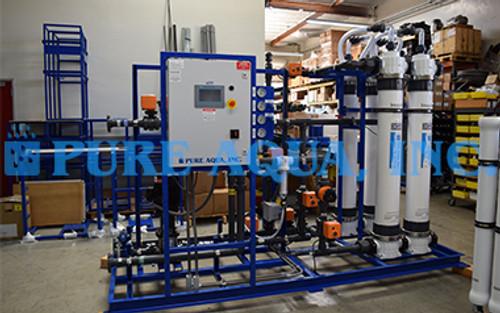Sistema de Água de Reciclagem para Lavagem de Água Reutilizável 30 GPM - EUA