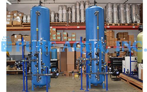 Sistema de Tratamento de Água para Uso Hospitalar 50 GPM - Kuwait