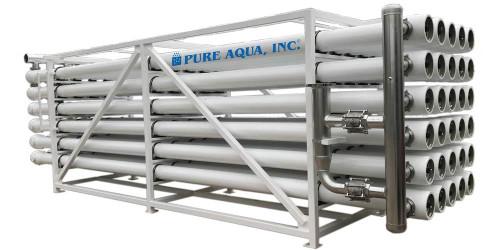 Grande sistema de osmose reversa R0-600