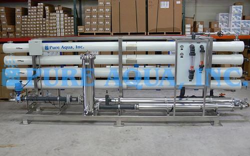 Dessalinizador Industrial & Unidade de Osmose Reversa Industrial para Água Salobra 130,000 GPD - Omã