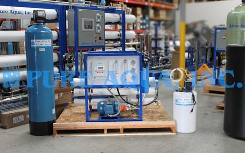 Kit Comercial de Osmose Reversa da Água do Mar 3,000 GPD - Arábia Saudita