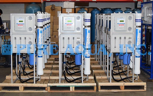 Conjunto de Osmose Reversa de Água Salobra 14 X 1,500 GPD - Malásia