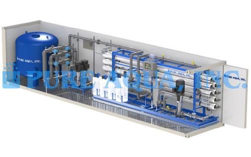 Planta de Osmose Reversa Industrial em Contentor para Fabrico de Cimento 380,000 – Iraque
