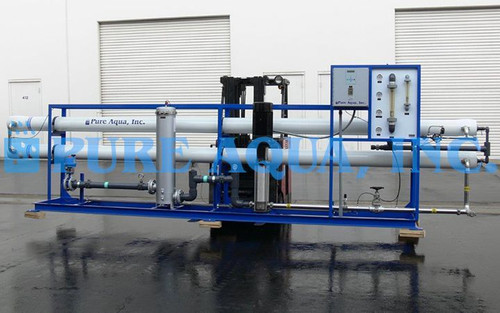 Aparelho Industrial de Osmose Reversa de Água Salobra 90,000 GPD - EAU