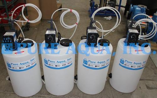Sistemas de Tratamento de Água por Osmose Reversa e EDI 10 m3/Hr - Iraque