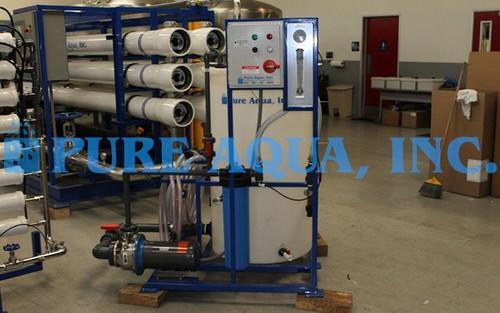 Máquina de Osmose Reversa de Água Salobra 24,000 GPD - Gana