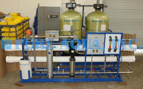 Osmose Reversa Industrial de Água Salobra 215 m3/Dia - Guiné