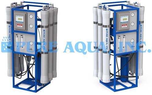 Sistema de Osmose Reversa de Água Salobra 9,000 GPD - Catar