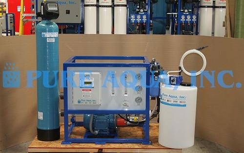 Dispositivo Comercial de Osmose Reversa de Água do Mar 700 GPD - Nigéria