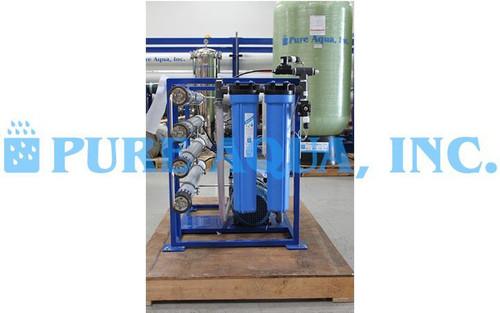 Máquina Comercial de Osmose Reversa de Água do Mar 1,300 GPD - Filipinas
