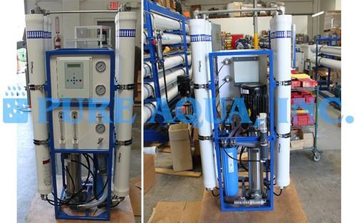 Sistema de OR de Água Salobra 9,000 GPD - EUA