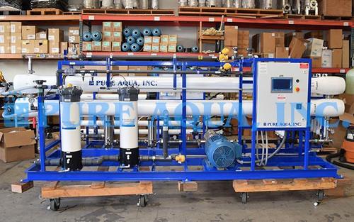 Planta Industrial da Osmose Reversa de Água do Mar 32,000 GPD - Papua Nova Guiné