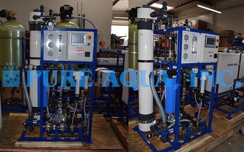 Sistema Piloto de Ultrafiltração para Redução de COT 10,000 GPD - Omã