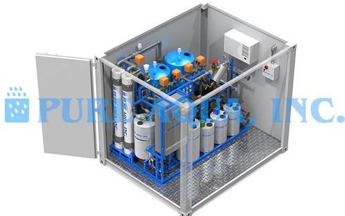 Sistema de Ultrafiltração com Suporte Montado 26,000 GPD - Austrália