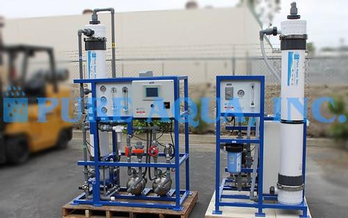 Sistema de Ultrafiltração 14,400 GPD - EUA