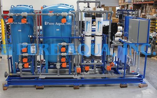 Sistemas de Tratamento de Água por Ultrafiltração 3 m3/hr - Panamá