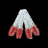 Red White Mascara Brushes