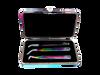 Inside of the magnetic eyelash extension tweezer case. Tweezers not included.