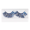 Blue/Silver Metallic Eyelashes by Lash Stuff