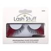 Red Feather False Strip Eyelashes - Set 3009