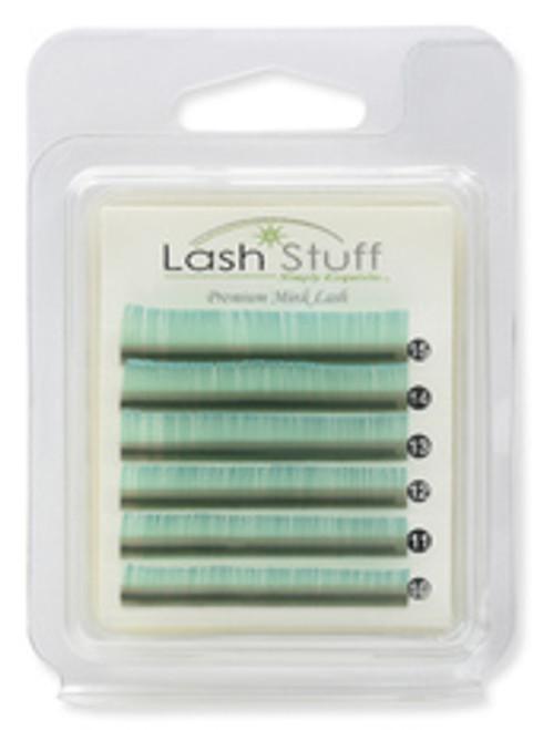 MINI SEA GREEN eyelash extensions lashstuff.com