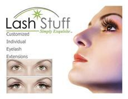 eyelash extension poster lashstuff.com