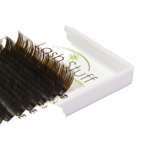 Brown Eyelash Extensions LashStuff.com
