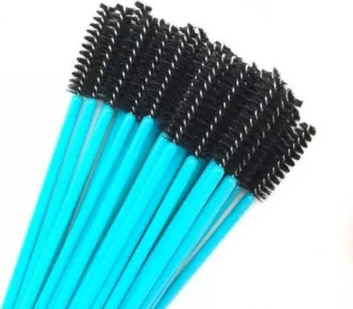 Black/Teal Mascara Brushes (50ct)