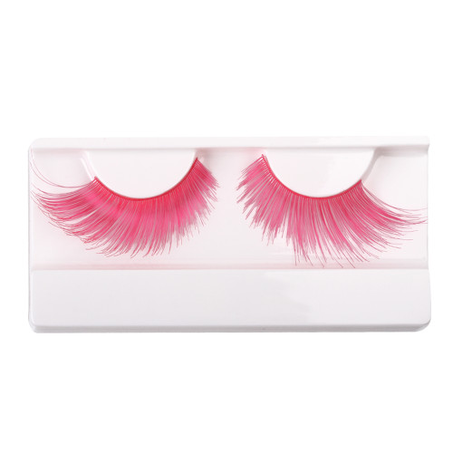 Pink False Strip Eyelashes by Lash Stuff