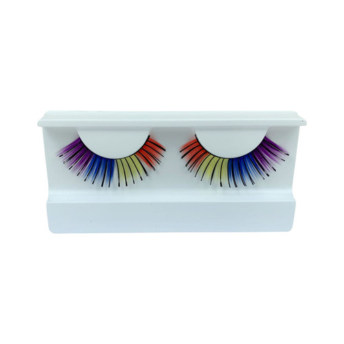 Multi Colored False Strip Eyelashes by Lash Stuff