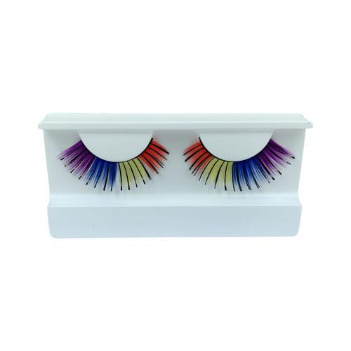 Multi Colored False Strip Eyelashes by Lash Stuff