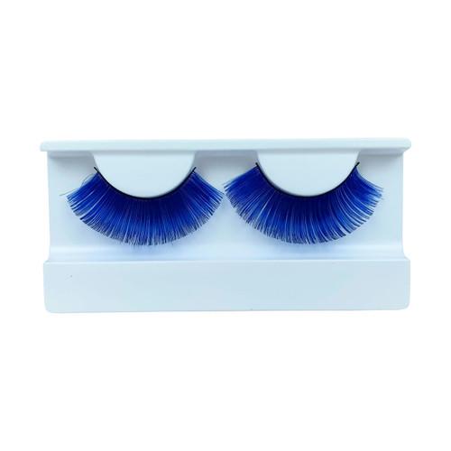 Blue False Strip Eyelashes by Lash Stuff