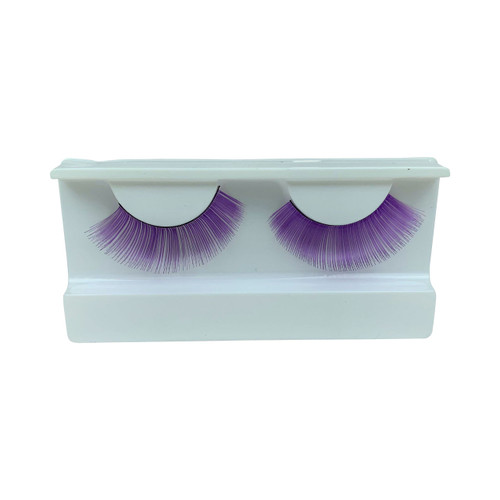 Purple False Strip Eyelashes by Lash Stuff
