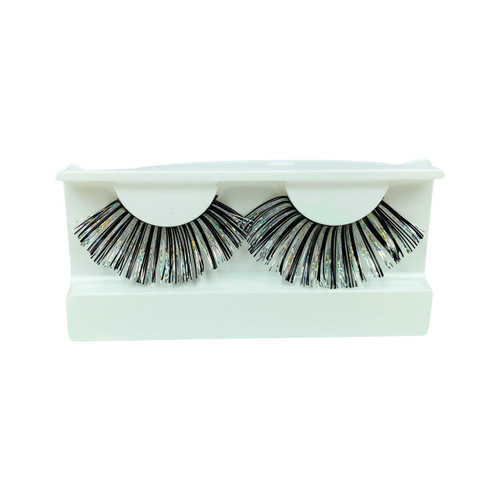 Metallic False Strip Eyelashes by Lash Stuff