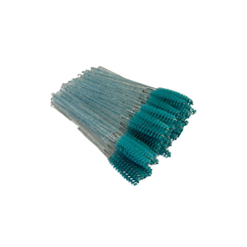 Sparkle Teal Mascara Brushes