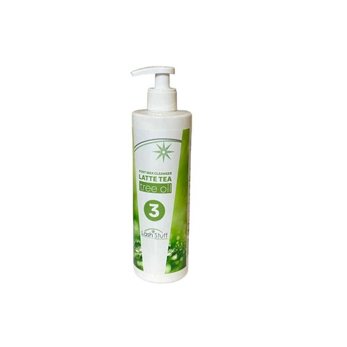 Post wax Tea Tree Cleanser to sooth the skin and clean wax off the body