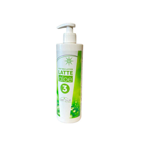 Post wax lotion that soothes the skin after removing hair from the body