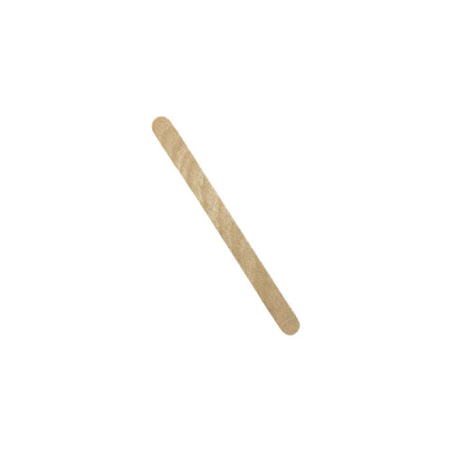 Medium wooden wax application applicator to apply wax for hair removal